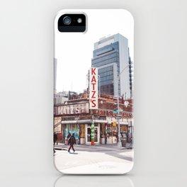 Katz IV iPhone Case
