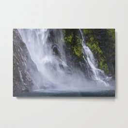 Waterfall.. Metal Print