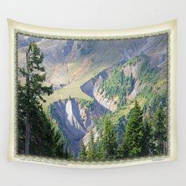 SWIFT CREEK HEADWATERS BELOW TABLE MOUNTAIN Wall Tapestry