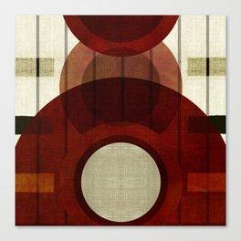 """""""Retro Abstract Big Circle"""" Canvas Print"""