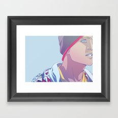 Down (Jesse Pinkman - Breaking Bad) Framed Art Print