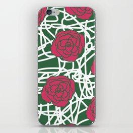 ROSE SQUIGGLE iPhone Skin