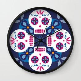 Talavera Blue Wall Clock