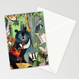 Ussuriland  Dersu´s dream Stationery Cards
