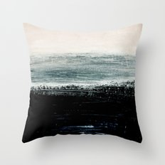 abstract minimalist landscape 3 Throw Pillow