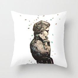 knoke rain  Throw Pillow