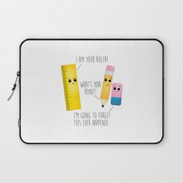 I Am Your Ruler Laptop Sleeve