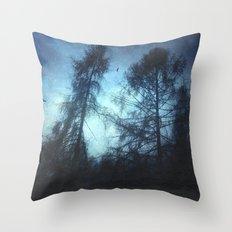 dark knights Throw Pillow