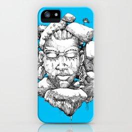 Stone Head of Abeokuta iPhone Case