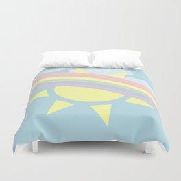 Pastel Rainbow Duvet Cover