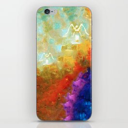 Angels Among Us - Emotive Spiritual Healing Art iPhone Skin