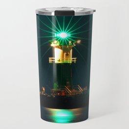 GREEN LIGHTHOUSE on the BALTIC Travel Mug