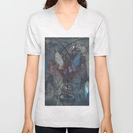 holidays in eden Unisex V-Neck
