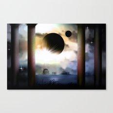 On a exosolar world. Canvas Print
