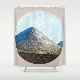 When the whole world is in front of you Shower Curtain