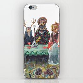 The Art of ruining conversation at dinner parties iPhone Skin