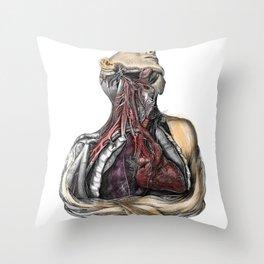 victorianatomy Throw Pillow