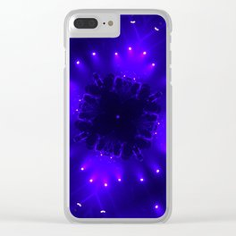 Diamond Lights Clear iPhone Case