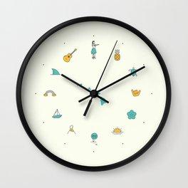Mahalo Wall Clock