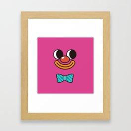 Monsticky Pink Framed Art Print