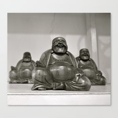 Laughing Buddah Canvas Print