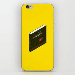 1.0 //  The Complete Typographer by Will Hill iPhone Skin