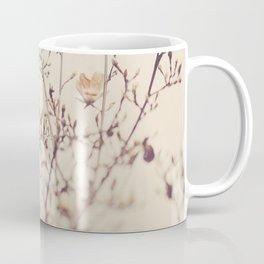 Magnolia tree. Winter Coffee Mug