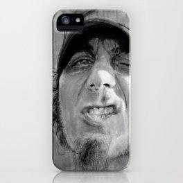 WARNER DRIVE portraits - black iPhone Case