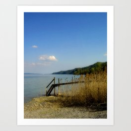 Lake of Constance Art Print