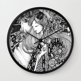 Aphrodite Wall Clock