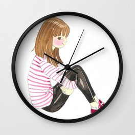 Character Design Wall Clock