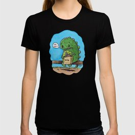 """lunch in the city"" T-shirt"