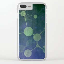 Double Helix Clear iPhone Case