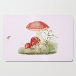 Agaricus Muscarius Cutting Board