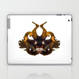 Demon Tribal Mask Laptop & iPad Skin
