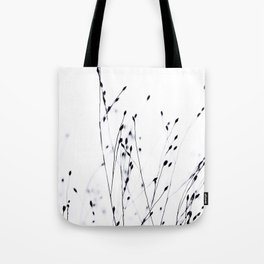 BLACK GRASS Tote Bag
