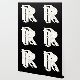 Beautiful Armor Letter R Wallpaper