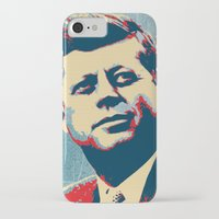 jfk iPhone & iPod Cases featuring JFK by Taylor Burleson