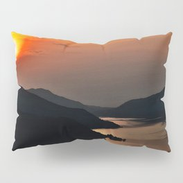 Sunset and the river Pillow Sham