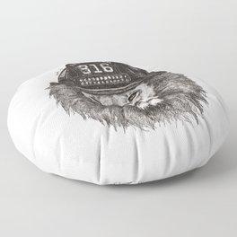 316_Lion Floor Pillow