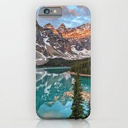 Sunrise over Moraine Lake  iPhone Case