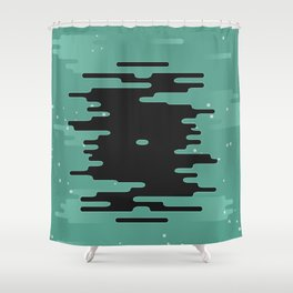 A Rip In Space Shower Curtain