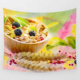 #Food #photography and #spring #colors Wall Tapestry