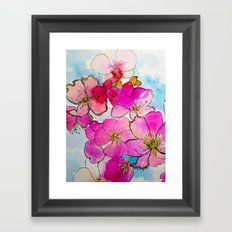 Cherry Blossom Framed Art Print