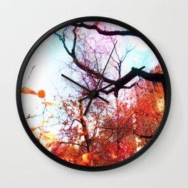 Color Blocked Wall Clock