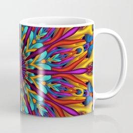 Amazing colors 3D mandala Coffee Mug