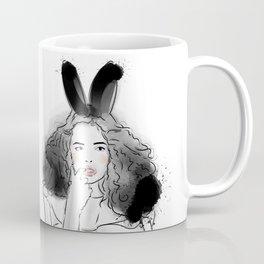 Fashionable easter bunny girl Coffee Mug