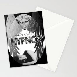 Under wings of Hypnos Stationery Cards