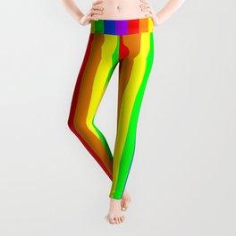 Rainbow Pride flag (vertical format) Leggings