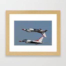 US Airforce Thunderbirds Framed Art Print